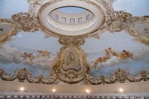 Teatro Margherita-cupola dopo il restauro