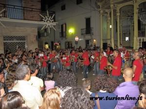 conturband in piazza S Orlandi - Turi