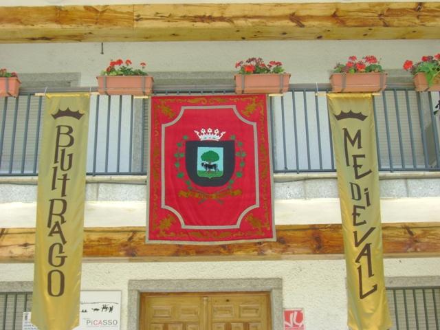stemma- città di Buitrago (Madrid)